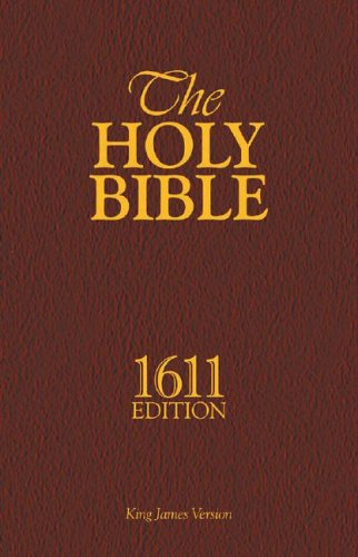 1611 King James BibleVersionScan